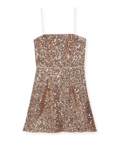 Laci Sequin Mini Dress, Size 8-16