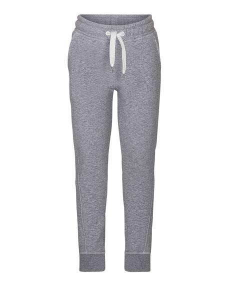 Alk Melange Drawstring Jogger Pants, Size 4-10