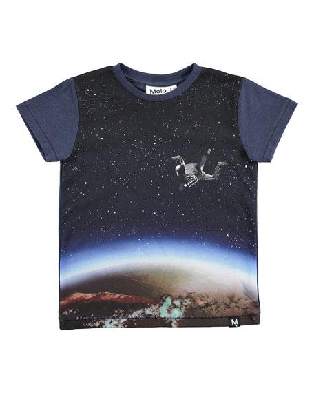 Molo Ragnij Sky Diver Printed T-Shirt, Size 4-10