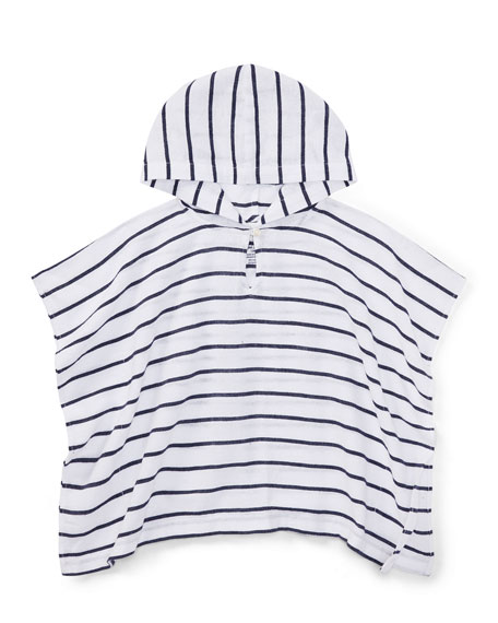 Ralph Lauren Childrenswear Cotton Gauze Stripe Swim Coverup,