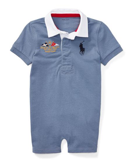 Ralph Lauren Childrenswear Rugby Jersey Polo Shortall, Blue,
