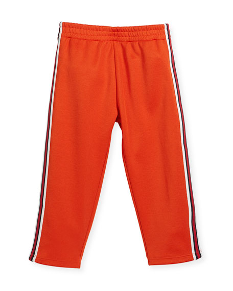 Gucci Jogging Pants w/ Banded Sides, Size 12-24