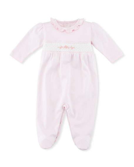 Kissy Kissy CLB Summer Medley Smocked Footie Playsuit,