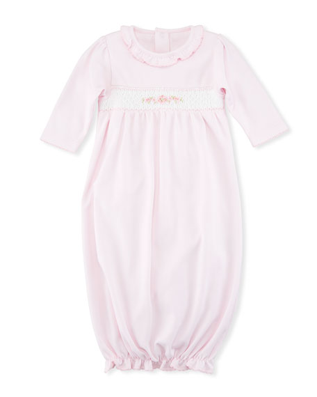 Kissy Kissy CLB Summer Medley Smocked Sleep Gown, Size Newborn-S ...