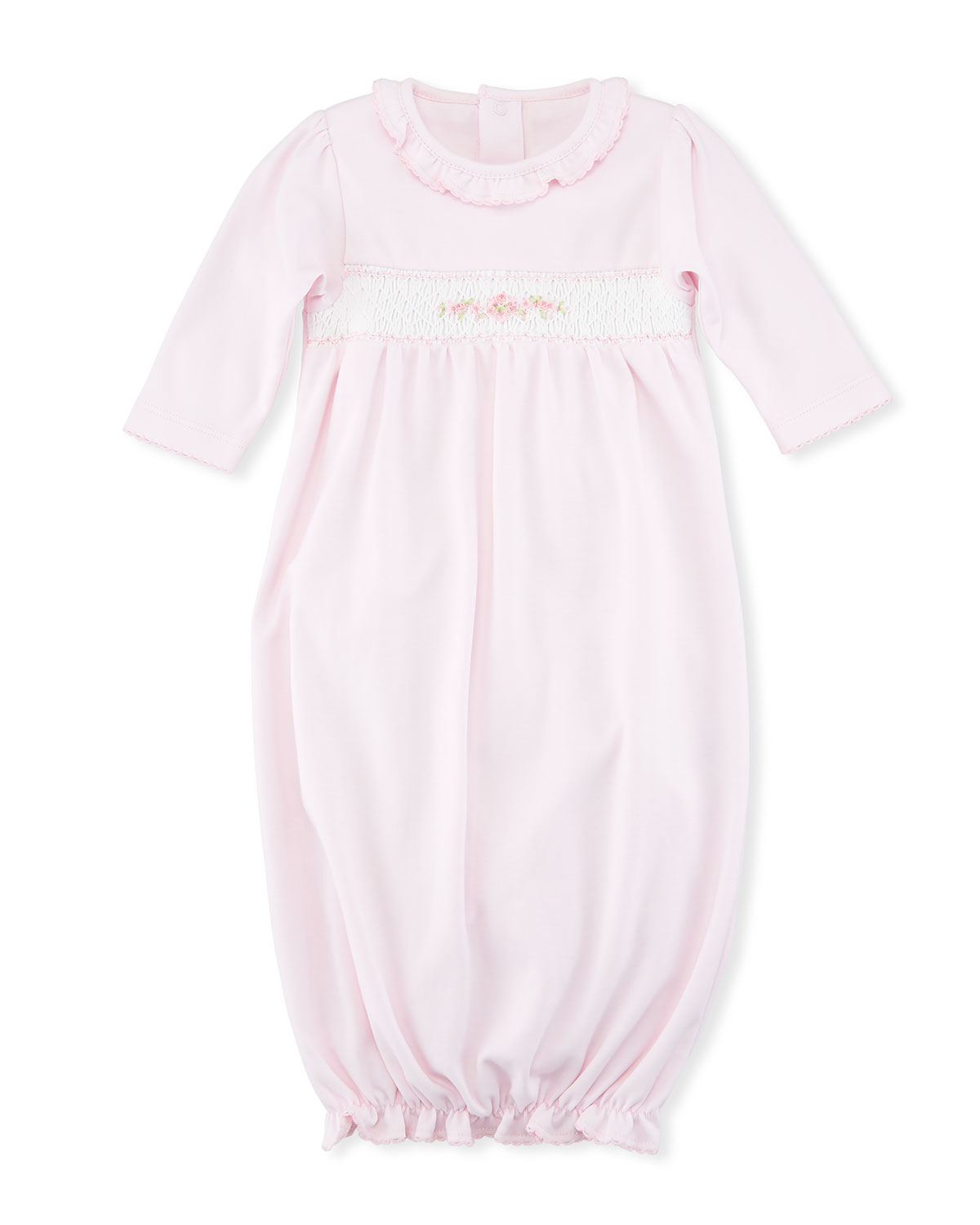 Kissy Kissy CLB Summer Medley Smocked Sleep Gown, Size Newborn-S and ...