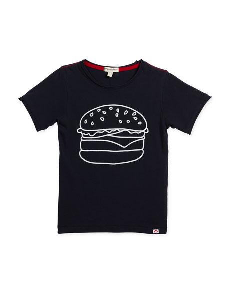Appaman Burger Graphic T-Shirt, Size 2-10