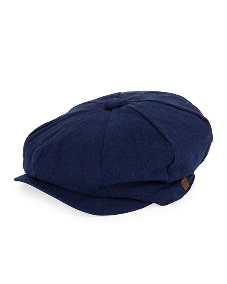 Appaman Boys' Linen-Cotton Paperboy Hat