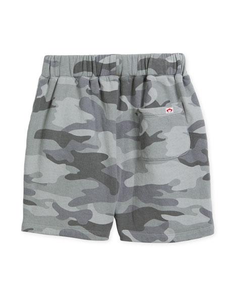 Preston Cotton Camo Shorts, Size 2-10