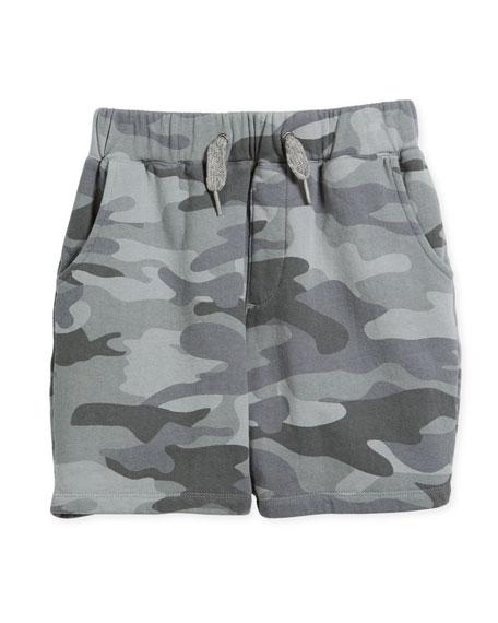 Appaman Preston Cotton Camo Shorts, Size 2-10