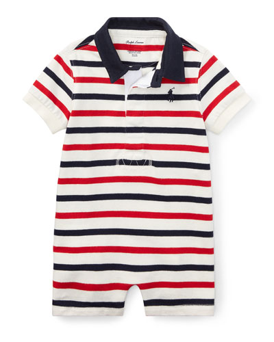 Basic Jersey Rugby Polo Shortall, Size 3-18 Months