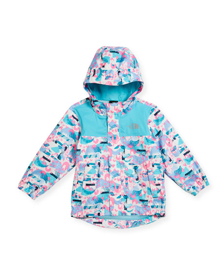 The North Face Tailout Printed Rain Jacket, Multi,