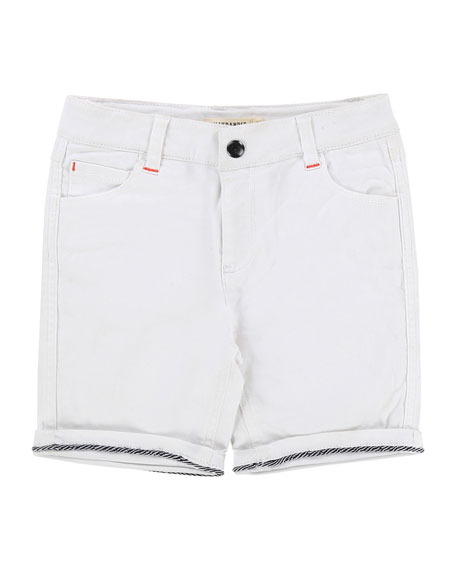 Billybandit Rolled-Cuffs Denim Shorts, Size 2-8