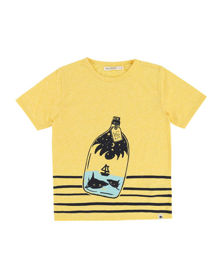 Message in a Bottle T-Shirt, Size 2-8