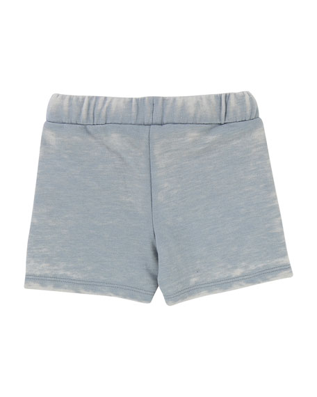 Burnout French Terry Shorts, Size 12M-3T