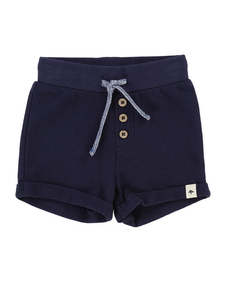 Billybandit Pique Cotton-Blend Shorts, Size 12M-3T