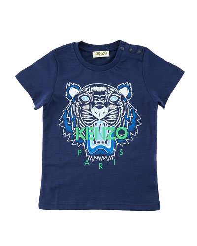 Short-Sleeve Logo Tiger Tee, Size 6-18 Months