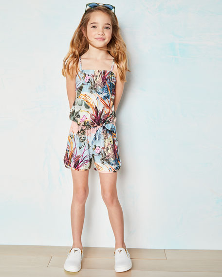 Amberly Sleeveless Romper, Size 3T-12