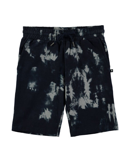 Arnt Tie Dyed Cotton Shorts, Size 4-10