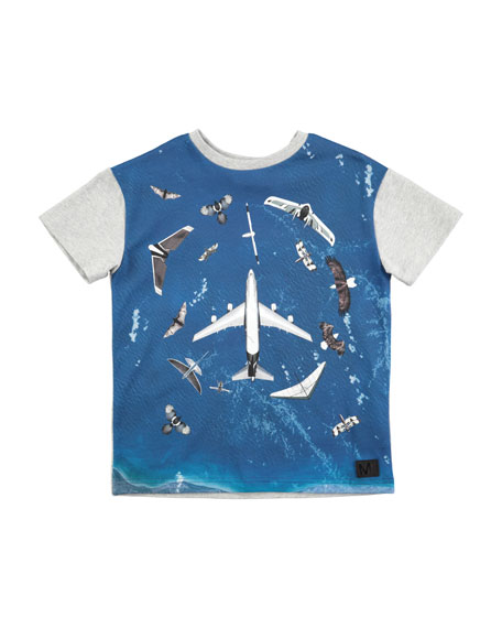 Ripo Fly in Peace Short-Sleeve T-Shirt, Size 4-10