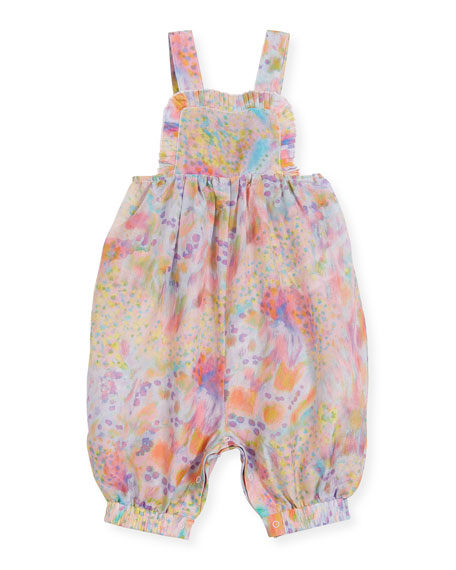 Desiree Watercolor Sleeveless Romper, Size 6-24 Months