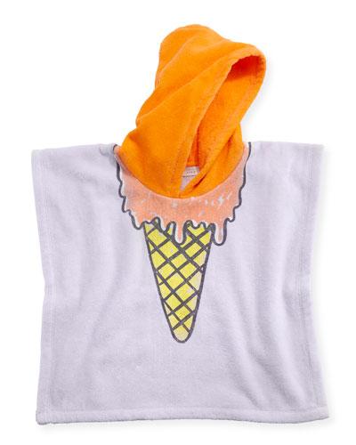 Bobo Ice Cream Hooded Towel