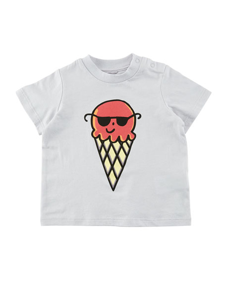 Chuckle Ice Cream w/ Sunglasses T-Shirt, Size 6-36 Months