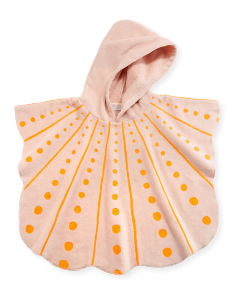 Stella McCartney Kids Bobo Seashell Hooded Towel