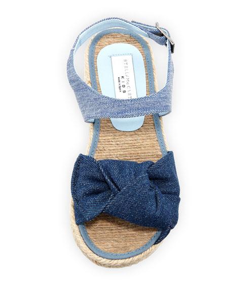 Rori Denim Espadrille Sandal, Toddler/Kid