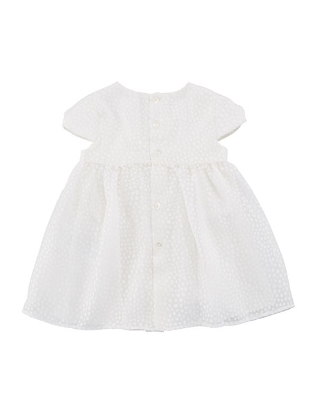 Dotted Tulle Dress w/ Matching Bloomers, Size 2-12 Months