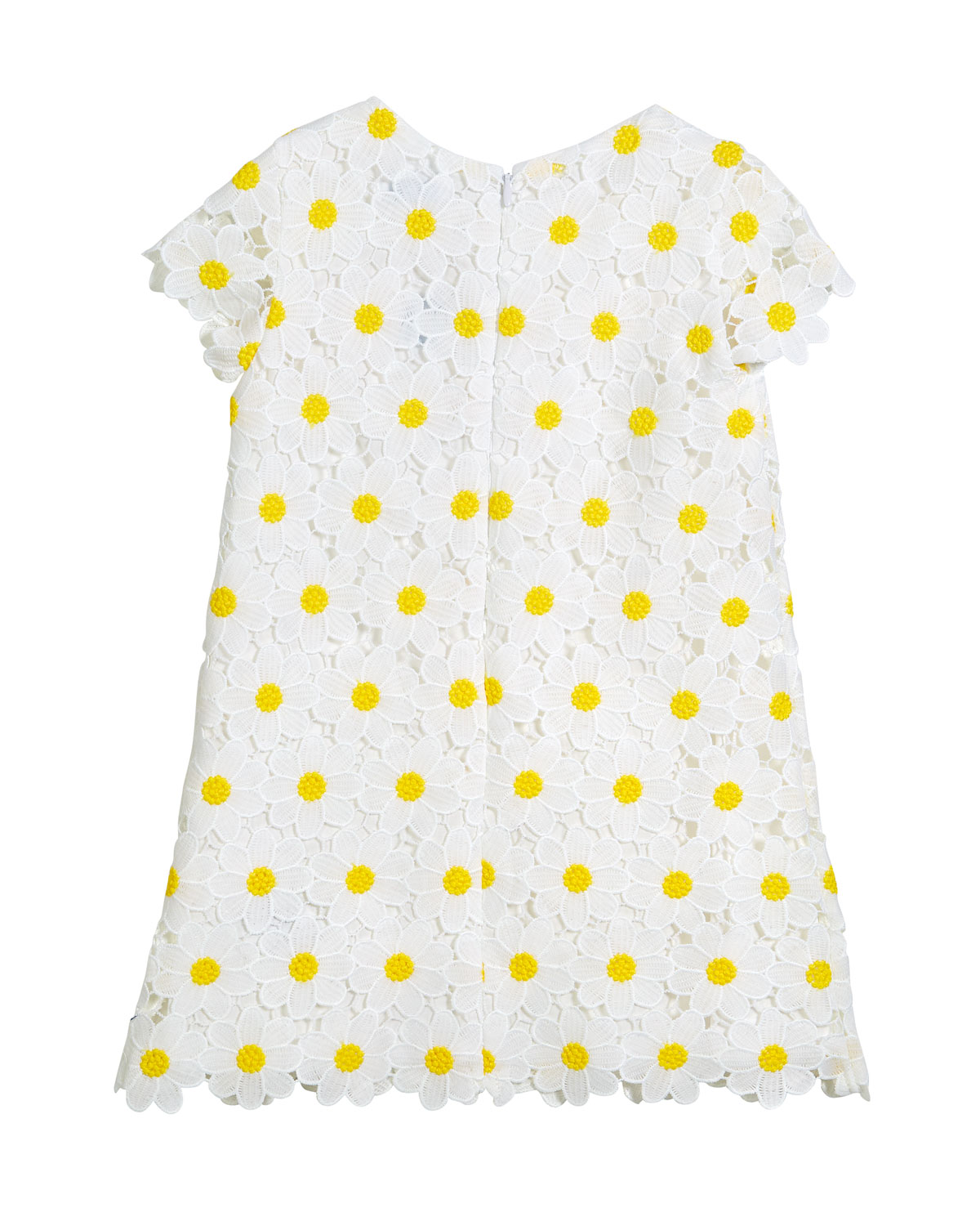 10e284865 Mayoral Daisy Lace Embroidered Dress, Size 3-7 | Neiman Marcus