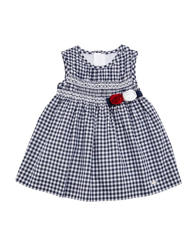 Gingham Smock Dress, Size 6-36 Months