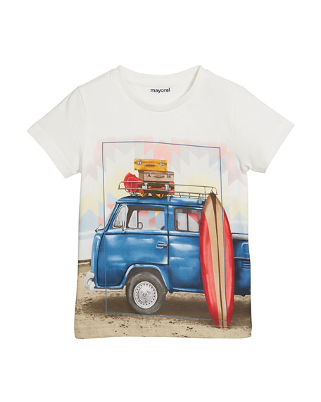 Surf Van Short-Sleeve T-Shirt, Size 4-7