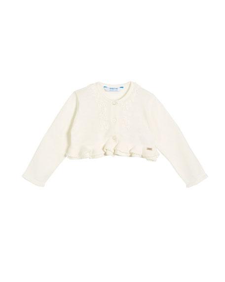 Bolero Knitted Cardigan, Size 6-36 Months