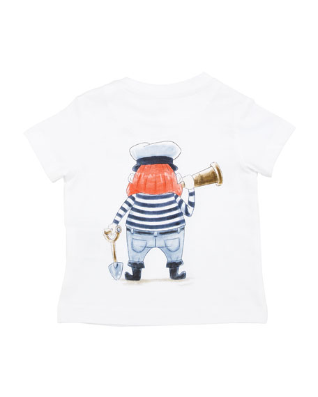 Short-Sleeve Pirate Graphic T-Shirt, Size 6-36 Months