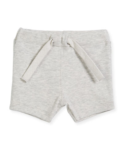 Cotton Drawstring Sweat Shorts, Size 6-36 Months