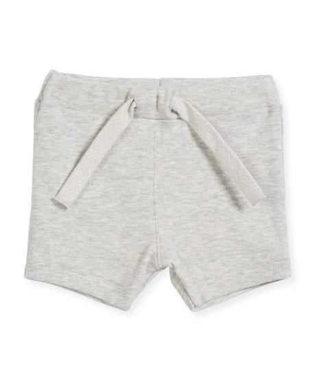 Cotton Drawstring Sweat Shorts, Size 6-36 Months