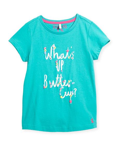 Floral Buttercup T-Shirt, Size 3-10