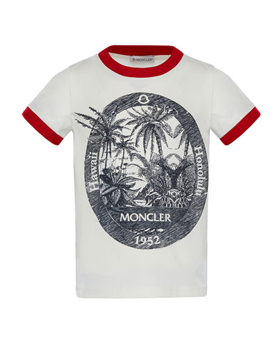 Ringer Hawaii T-Shirt, Size 4-6