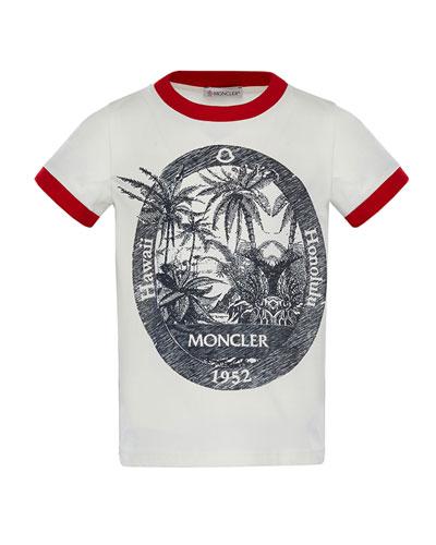 Ringer Hawaii T-Shirt, Size 4-6