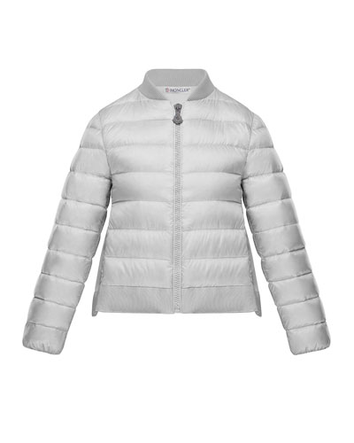 Kamelie Lightweight Jacket w/ Back Bow, Size 4-6