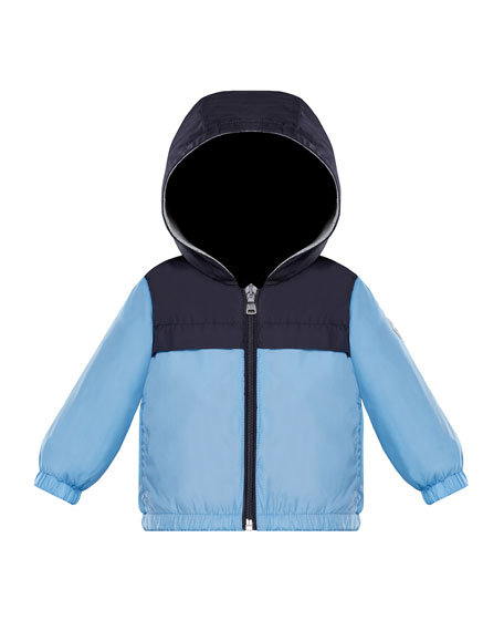 Izon Two-Tone Wind-Resistant Jacket, Size 12M-3T