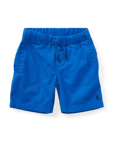 Parachute Twill Shorts, Size 2-4
