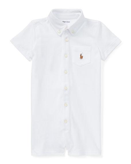 Ralph Lauren Childrenswear Kensington Interlock Collared