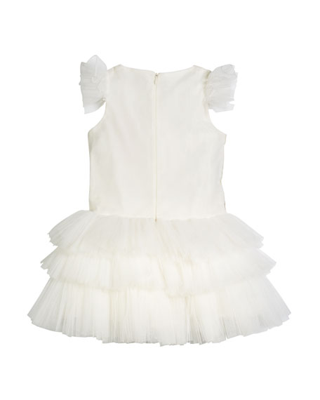Mini Ballerina Tulle Dress, Size 8