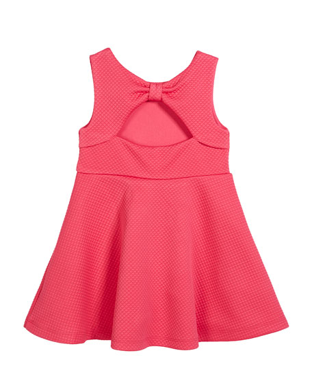 vivian cutout-back dress, size 2-6x