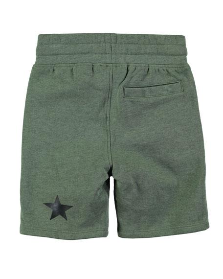 Akon Cotton-Blend Drawstring Shorts, Size 4-10