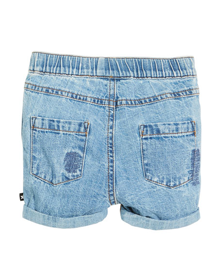 Severin Vintage Denim Shorts, Size 6-24 Months