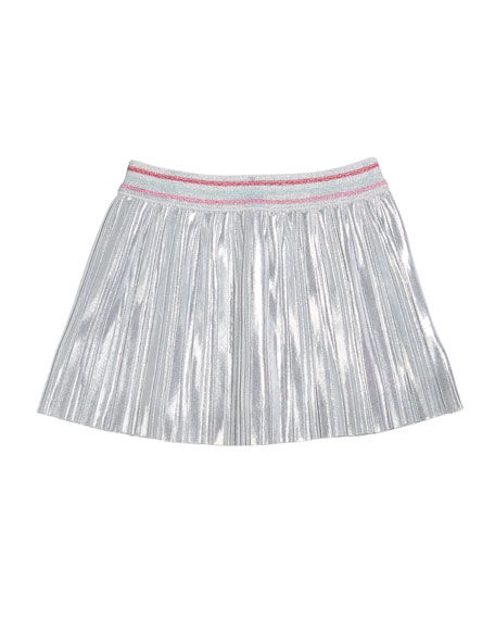 sunglasses tee w/ metallic skirt, size 2-6x