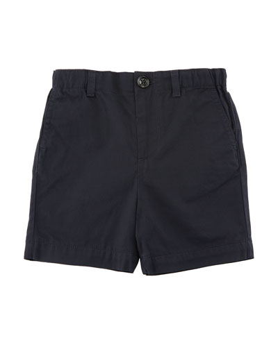 Sean Cotton Twill Shorts, Size 6M-3Y