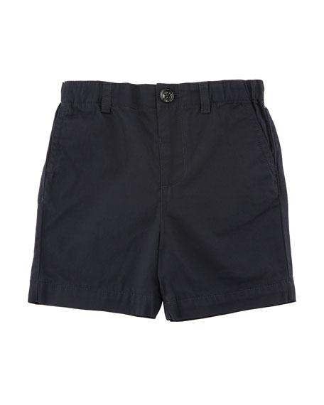 Sean Cotton Twill Shorts, Size 6M-3Y